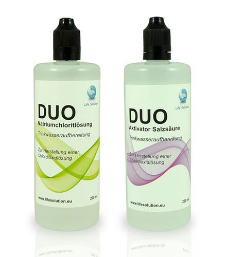 Life Solution DUO 2 x 200ml (mit Aktivator Salzsäure)